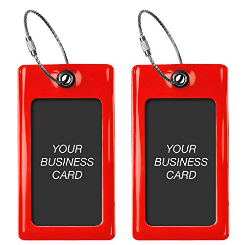 Luggage Tags TUFFTAAG, Business Card Holder, Suitcase Labels, Travel Accessories by ProudGuy (Image #1)