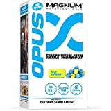 Magnum Nutraceuticals OPUS Intra-Workout - 48 Servings - Blue Yasberry - Muscular Growth - Improve Strength - Improve Recovery - Delay Muscular Fatigue