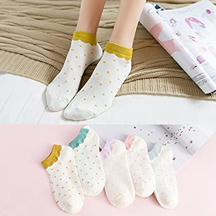 Calcetines calcetines niña luz-Corea barco precioso calcetines de algodón femenino el otoño y el