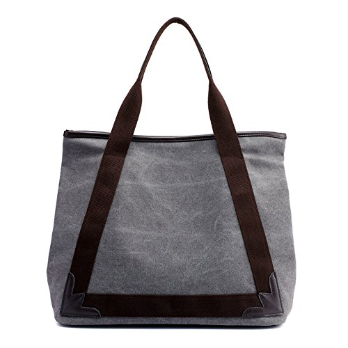 Negro Retro Lady Moda Lienzo La Gray Handbag GWQGZ wBEXHqn