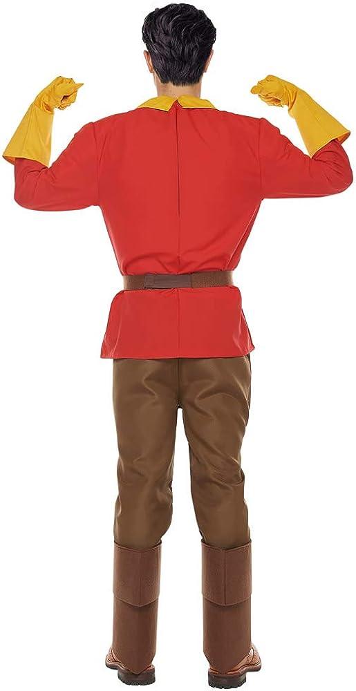 Disney - Disfraz de Gaston para Adulto, Color Rojo: Amazon.es ...