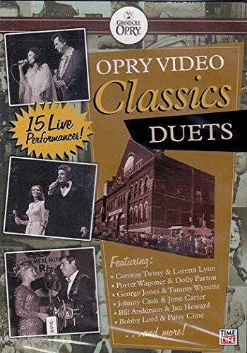 Opry Video Classics Duets ~ Conway Twitty & Loretta Lynn Porter Wagoner & Dolly Parton George Jone & Tammy Wynette & More (Parton Wagoner)