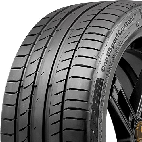 235/35-19 Continental ContiSportContact 5P Summer Performance Tire 240AAA 91Y 235 35 19
