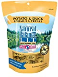 Natural Balance L.I.T. Limited Ingredient Small Breed Dog Treats, Grain Free, Potato & Duck Formula, 8-Ounce