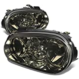 Volkswagen Golf Headlight Lamps Kit (Smoke Lens) - MK4 MK IV