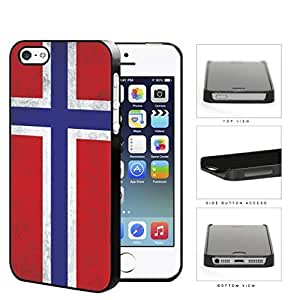 Norwegian Flag Dirty Grunge Hard Plastic Snap On Cell Phone Case Case For Ipod Touch 4 Cover