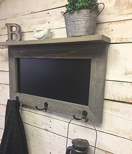 Amazon Chalkboard ShelfKitchen Chalkboardchalkboard Coat Rack Adorable Chalkboard Coat Rack