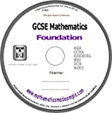 GCSE Mathematics Foundation Revision DVD(MS Window)