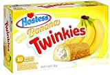 Hostess Banana Twinkies, 10 Count (Pack of 6) by Hostess