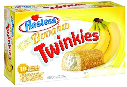 Hostess Banana Twinkies, 10 Count (Pack of 6) by Hostess by Hostess (Image #1)