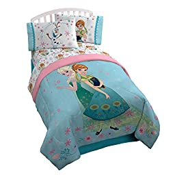 Disney Frozen Perfect Day Microfiber Twin/Full Reversible Comforter