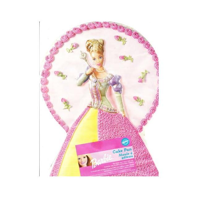 Wilton Dreamtime Princess Barbie Cake Pan #2105 8900