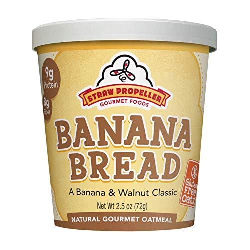 met Foods Natural Gourmet Oatmeal, Banana Bread, 2.5 Ounce (Pack of 12) ()