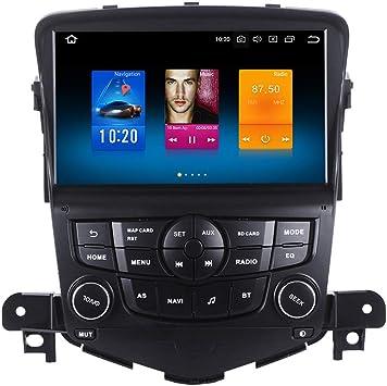 Dasaita - Sistema de audio y vídeo para coche Android 8.0 para Chevrolet Cruze, sistema de navegación GPS, control del volante con Bluetooth OBD WiFi TMPS DVR: Amazon.es: Electrónica