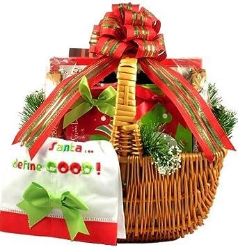 Amazon.com : Gift Basket Village Cookies for Santa Christmas Gift ...