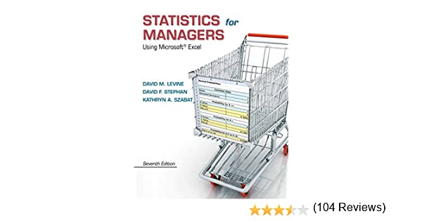 Amazon.com: Statistics for Managers Using Microsoft Excel Plus NEW ...
