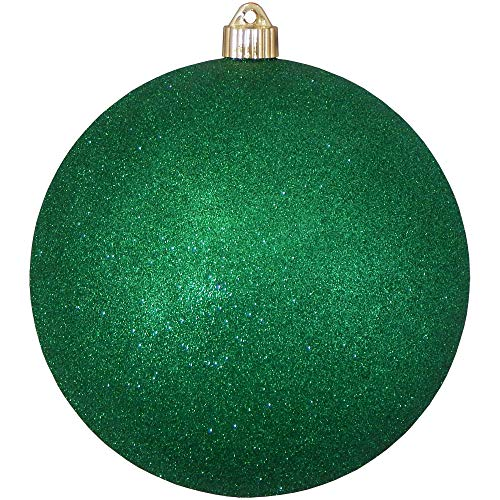Christmas By Krebs Jumbo Commercial Shatterproof UV Resistant Plastic Christmas Ball Ornament Wedding Party Holiday Decor, 8