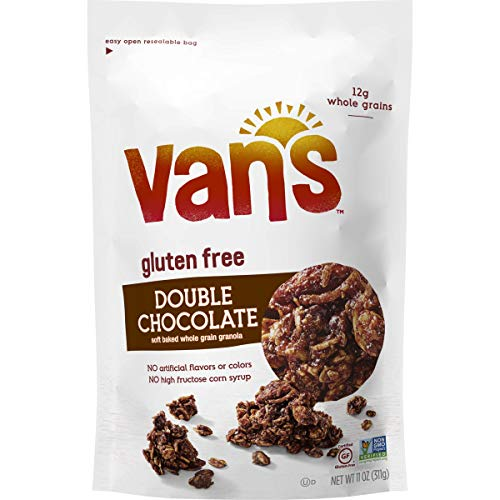 (Van's Simply Delicious Gluten-Free Soft and Chewy Granola, Double Chocolate, 11 oz.)