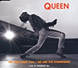 We will rock you/We are the champions [Single-CD]