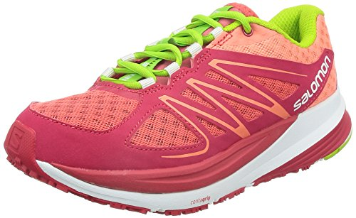 Pulse Shoe Running Salomon Women's Sense Pink W OTFT8Enq
