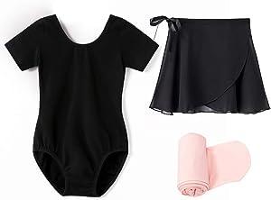 STELLE Girls Ballet Leotard Ballerina Starter Kit