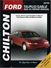 Ford Taurus and Sable, 1986-95 (Chilton Total Car Care Series Manuals) (Paperback)