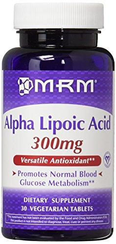 MRM 300Mg Alpha Lipoic Acid Capsules Bottle, 2 Count