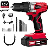 Brushless Cordless Drill Set with Case, Compact...