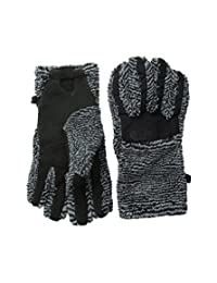 The North Face Denali Thermal Etip Glove Women's TNF Black/Mid Grey Stripe Small