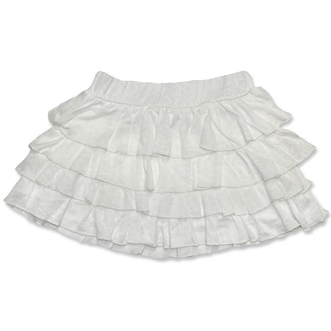 CARBONE - Falda - con volantes - para niña: Amazon.es: Ropa y ...
