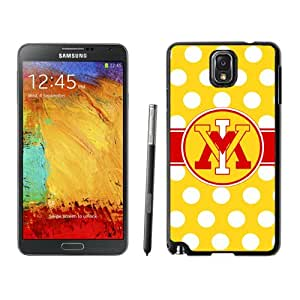 Fashionable And Unique Custom Designed With NCAA Big South Conference VMI Keydets 7 Protective Cell Phone Hardshell Cover Case For Samsung Galaxy Note 3 N900A N900V N900P N900T Black