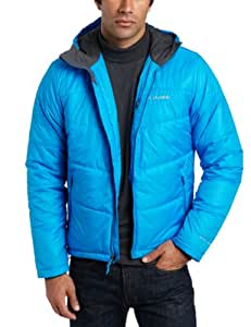 Columbia Men's Shimmer Me Timbers II Hooded Jacket, Compass Blue, X-Large