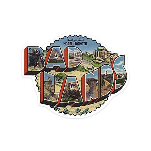 Badlands Postcard - 1