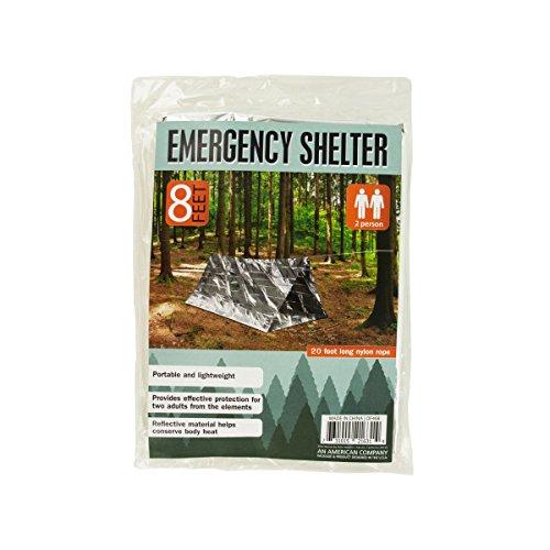 EMERGENCY SHELTER PORTABLE /& LIGHTWEIGHT 8 Feet