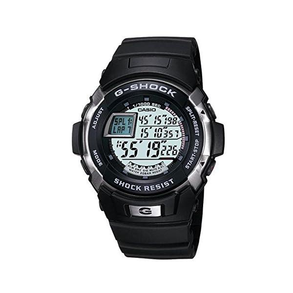 CASIO G-Shock G-9000-3VER - Reloj de Caballero de Cuarzo, Correa de Resina Color Verde (con Alarma, cronómetro, luz) 2