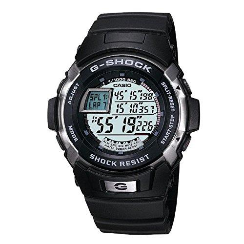 CASIO G-Shock G-9000-3VER - Reloj de Caballero de Cuarzo, Correa de Resina Color Verde (con Alarma, cronómetro, luz) 1