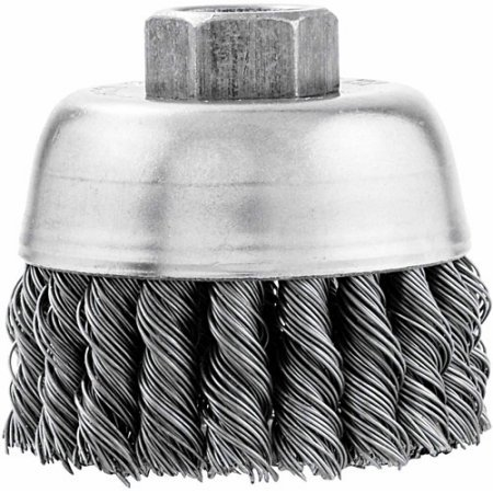 Vermont American 16830 3 Knotted Wire Industrial Cup Brush WLM