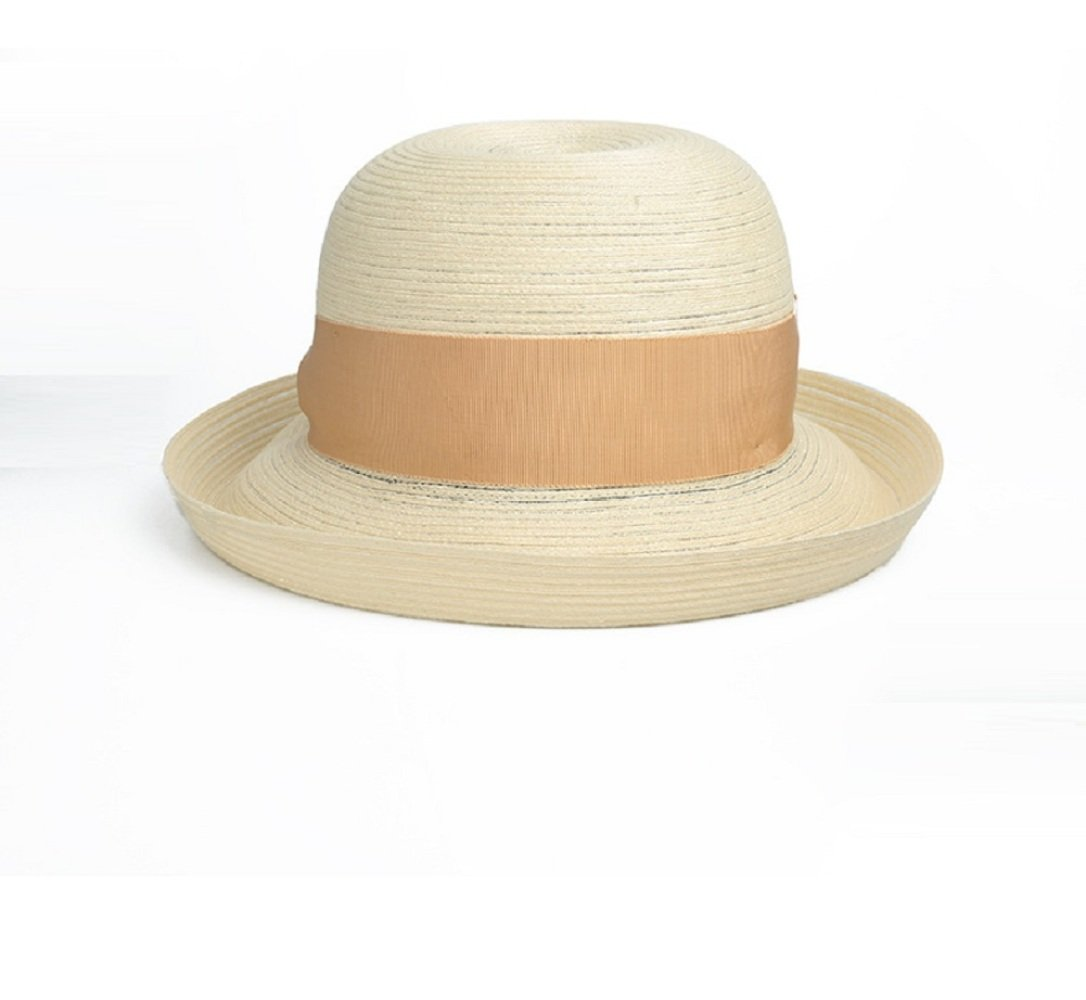 JJZHY Sombrero Sunhat otoño otoño Sunhat Doblar Sol Sombrero Sol protección Playa Sombrero,Blanco,Un tamaño dcddc1