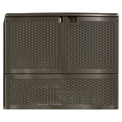 Outdoor Patio Storage - Suncast VDB19500J Vertical Deck Box