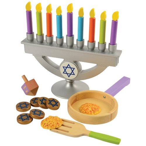 KidKraft Wooden Chanukah Set –...
