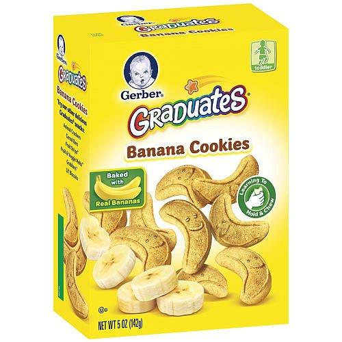 Gerber Graduates Cookies - Banana