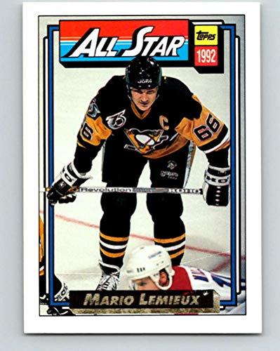 1992-93 Topps Gold #265G Mario Lemieux AS Mint Hockey NHL Penguins