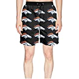 Fredeyi Mens Swim Trunks Beach Shorts Watersports Volley & Workout Shorts