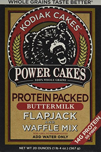 Cheap Kodiak Cakes Whole Grain Power Cakes Flapjack and Waffle Mix – Original Buttermilk – 20 oz (1lbs 4 oz)