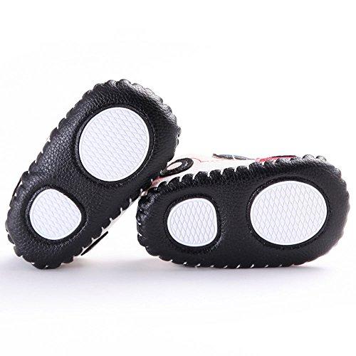 waylongplus bebé Prewalker Sneaker tipo de coche antideslizante suave zapatos Talla:13 (12-18 Months)