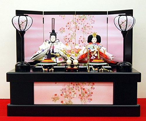 雛人形収納飾り コンパクト ひな人形 ミニ   B004JKVN3A