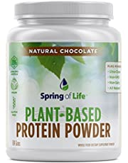Spring Of Life Plant-Based Protein Powder, Vegan, Non-GMO, Hypoallergenic