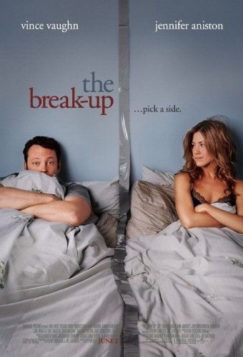 Vince Vaughn Barefoot >> The Break Up 27 X40 D S Original Movie Poster One Sheet