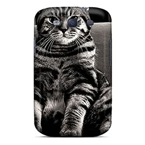 Tpu Case For Galaxy S3 With Beautiful Cat Wallpaper3