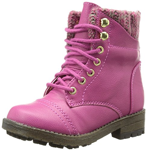 Picture of Steve Madden Tjacksin Boot (Toddler/Little Kid),Pink,11 M US Little Kid